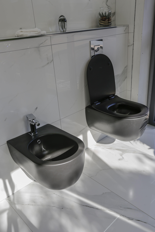 Black Toilet Black Toilet Bathroom Black Bathroom