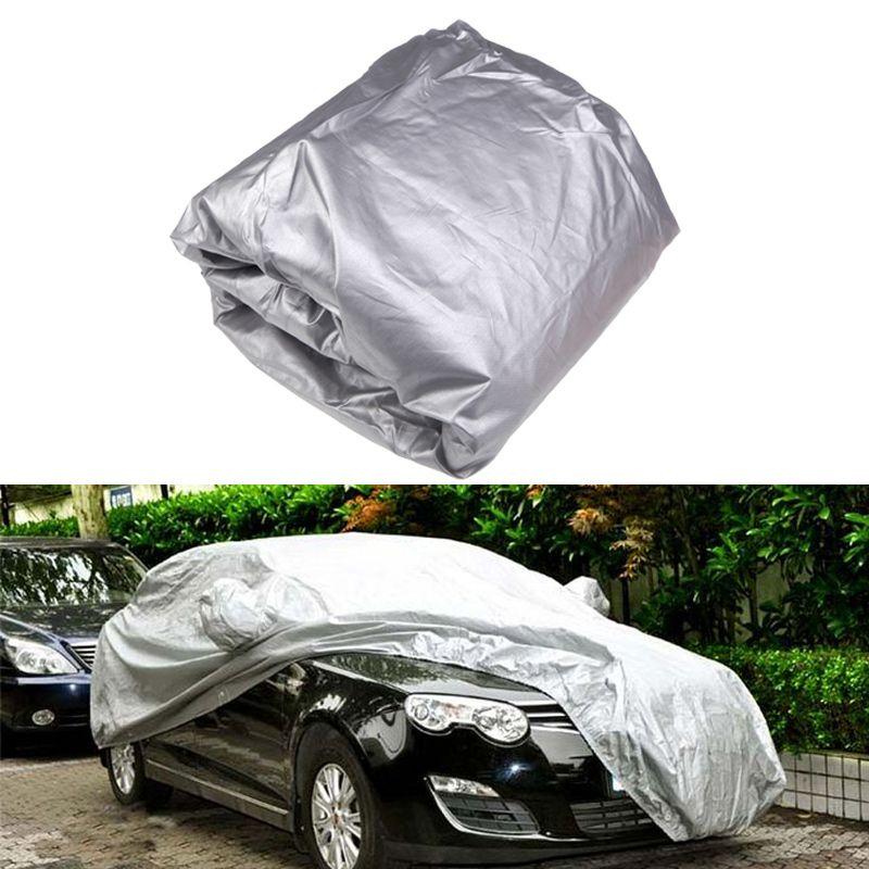 Universal Car Cover Sun Dust Protection Anti UV lightweight For Sedan Size XXL