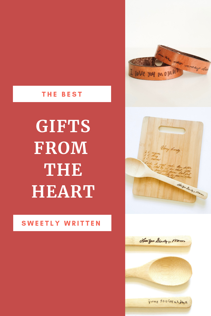 Great meaningful gift ideas! Sweetly Written | Christmas Gift Ideas ...