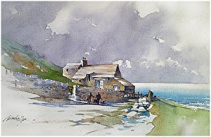 Thomas W. Schaller - Irish Sketch