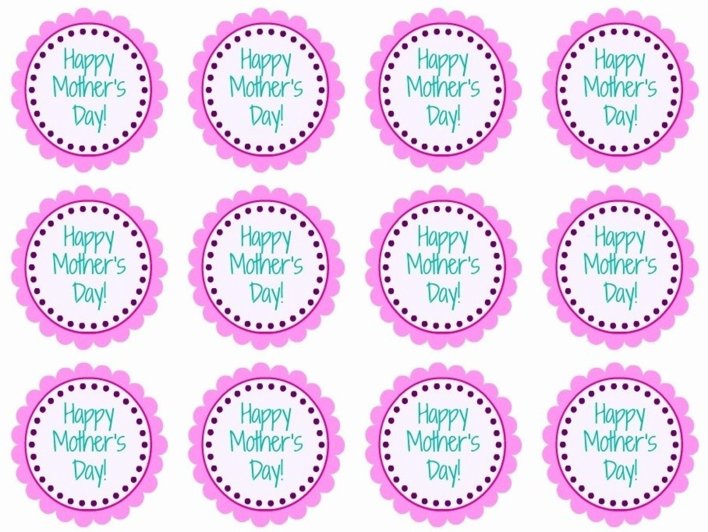 Mother S Day Printable Cupcake Toppers Diy Craft Cupcake Toppers Printable Happy Mothers Mothers Day May