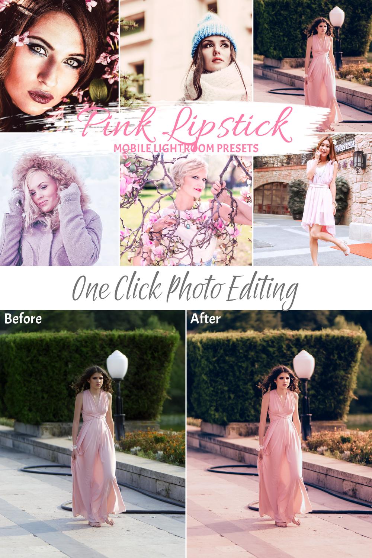 Photo of 10 Pink Influencer  Mobile Lightroom Presets,  Preset for Bloggers, Mobile Photo Filter DNG
