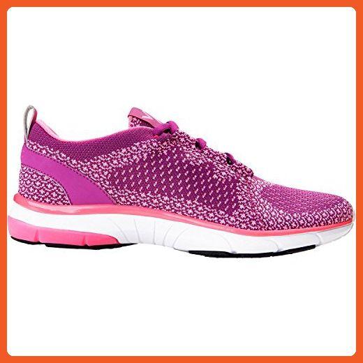 d1450477cfdcc Vionic Womens Flex Sierra Lace Up Sneaker Pink Size 10 Wide ...