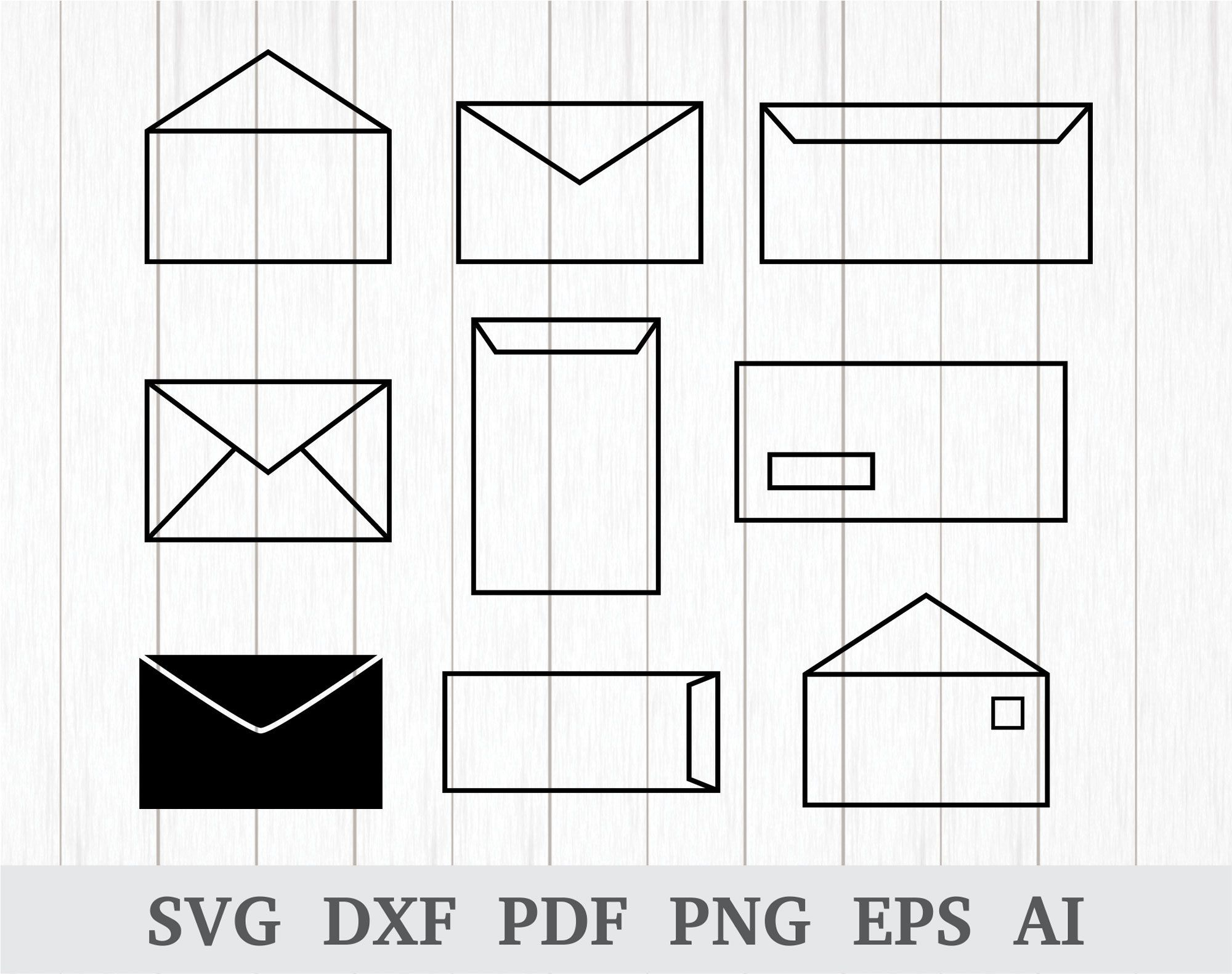 Envelope SVG file, Envelopes SVG , Mail svg, Email SVG