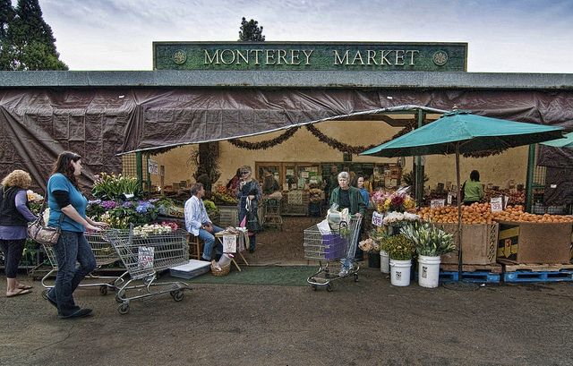 Monterey Market is a local exchange of fresh produce.