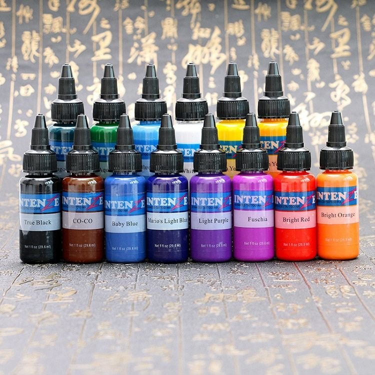 Cheap tattoo ink, Buy Quality tattoo ink colors directly