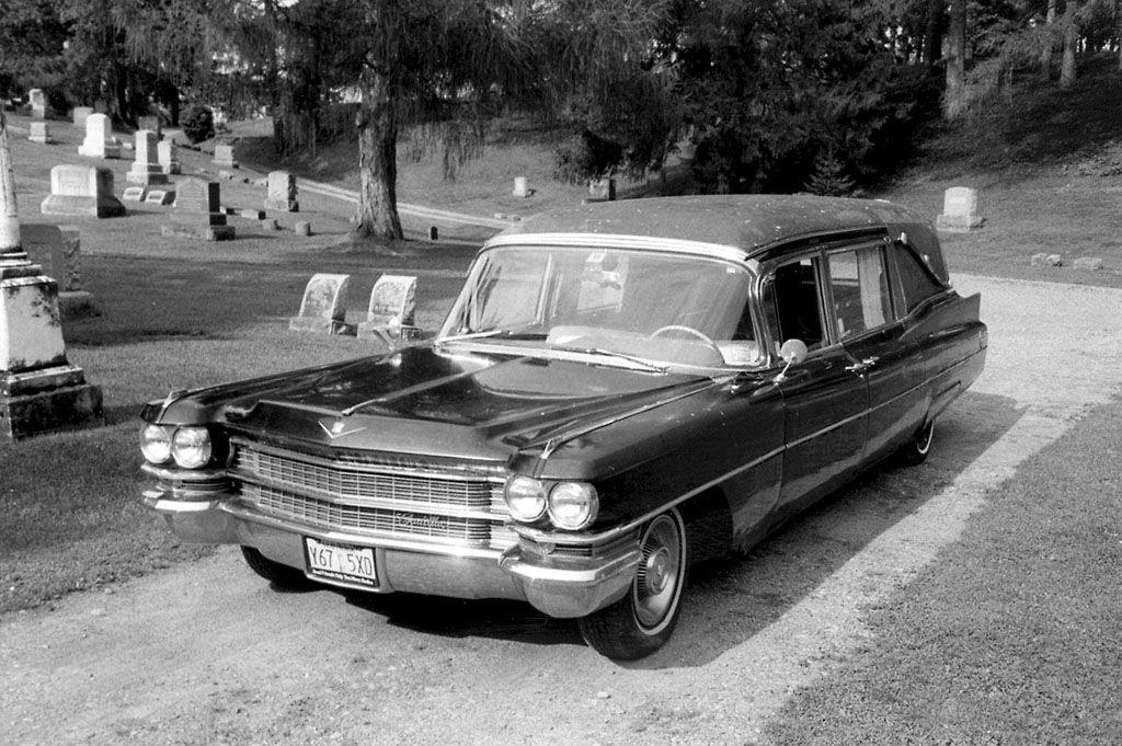 1963 Cadillac S&S Victoria Hearse