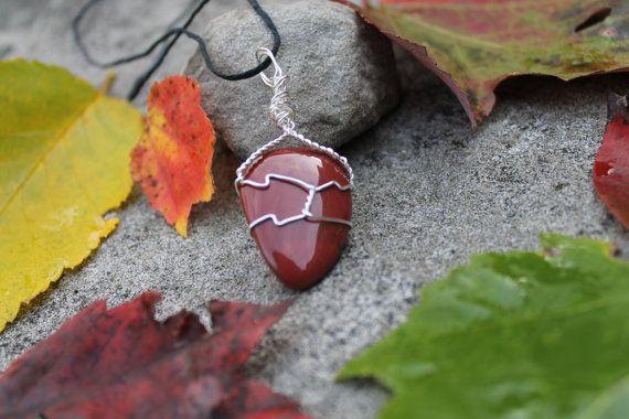 Red Jasper Pendant [2]