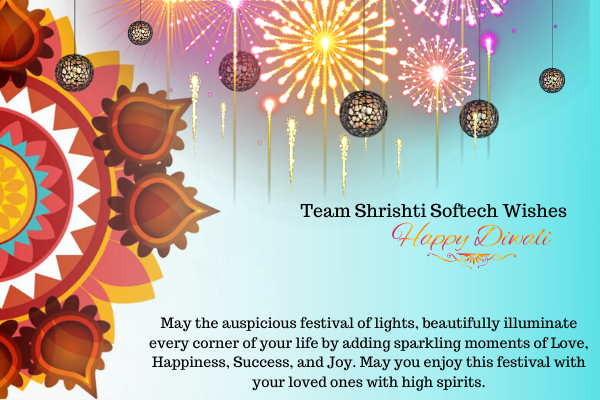 Happy Diwali - Shrishti Softech #dhanteraswishes
