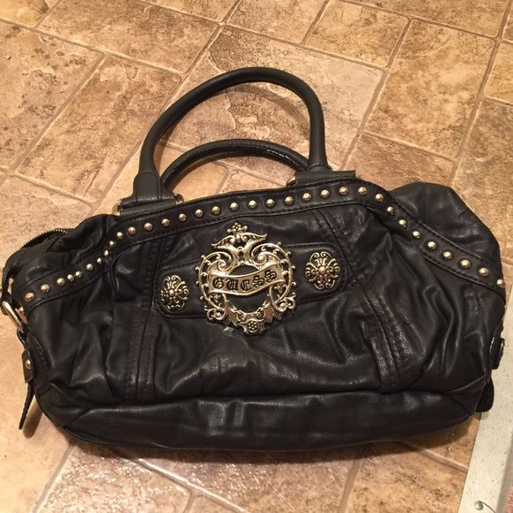 Selling this Black Guess bag on Poshmark! My username is  amandeux360.   shopmycloset  poshmark  fashion  shopping  style  forsale  Guess  Handbags d91a9bd08615c