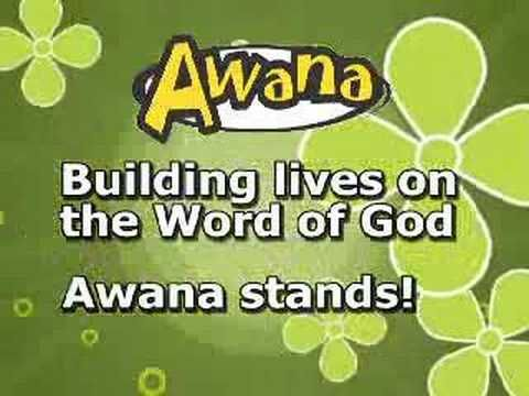 This Is A Video Of Lyrics Support For The Awana Club Theme