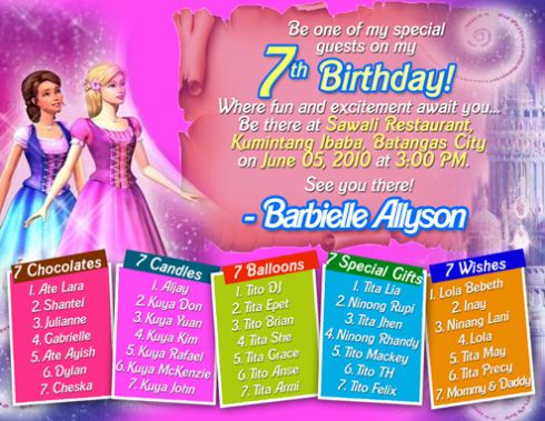 bday invitations birthday invitation