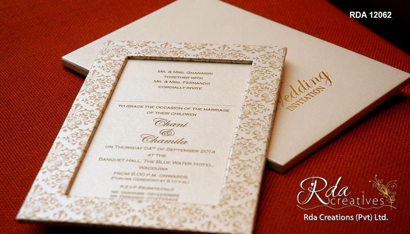 Image Result For Traditional Wedding Card Design In Sri Lanka