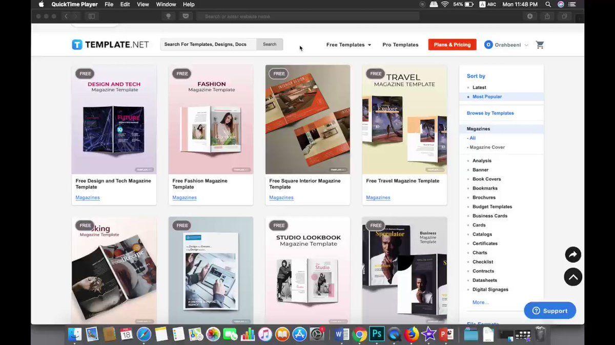 عمر الرهبيني On Twitter مخط ط لعمل مجلة في هذه الصفحة ما يقارب ٥٠ قالب مجانية مصممة لعمل مجلات بمجرد ما تختار التصميم راح يعطيك خيارات لصيغ كثيرة تقدر