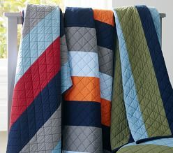 Kids' Quilts & Boys' Quilt Bedding   Pottery Barn Kids   E's ... : boy quilts bedding - Adamdwight.com