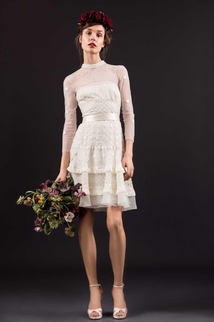 Alia bastamam wedding dress  Y  Evie Dress  Temperley London  style  Pinterest  Short