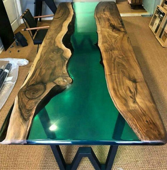 Table Collection Epoxy Wood Wood Epoxy Resin Modern Minimal Rustic Natural Natural Shape Resin Table Wood Table Design Epoxy Resin Table