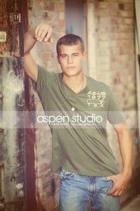 Senior Guys Urban Shoot - Aspen Studio