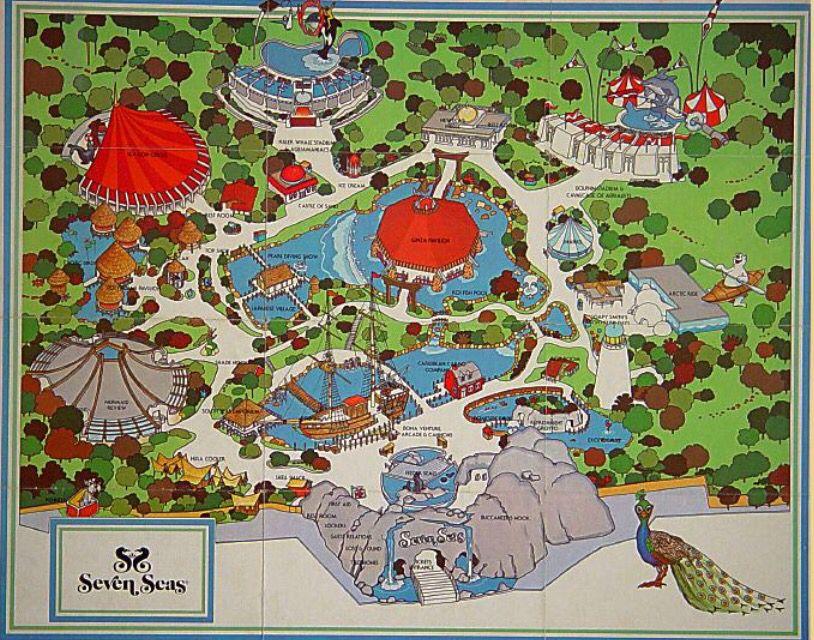 Seven Seas Park Map Seven Seas Arlington Texas Texas Texas History