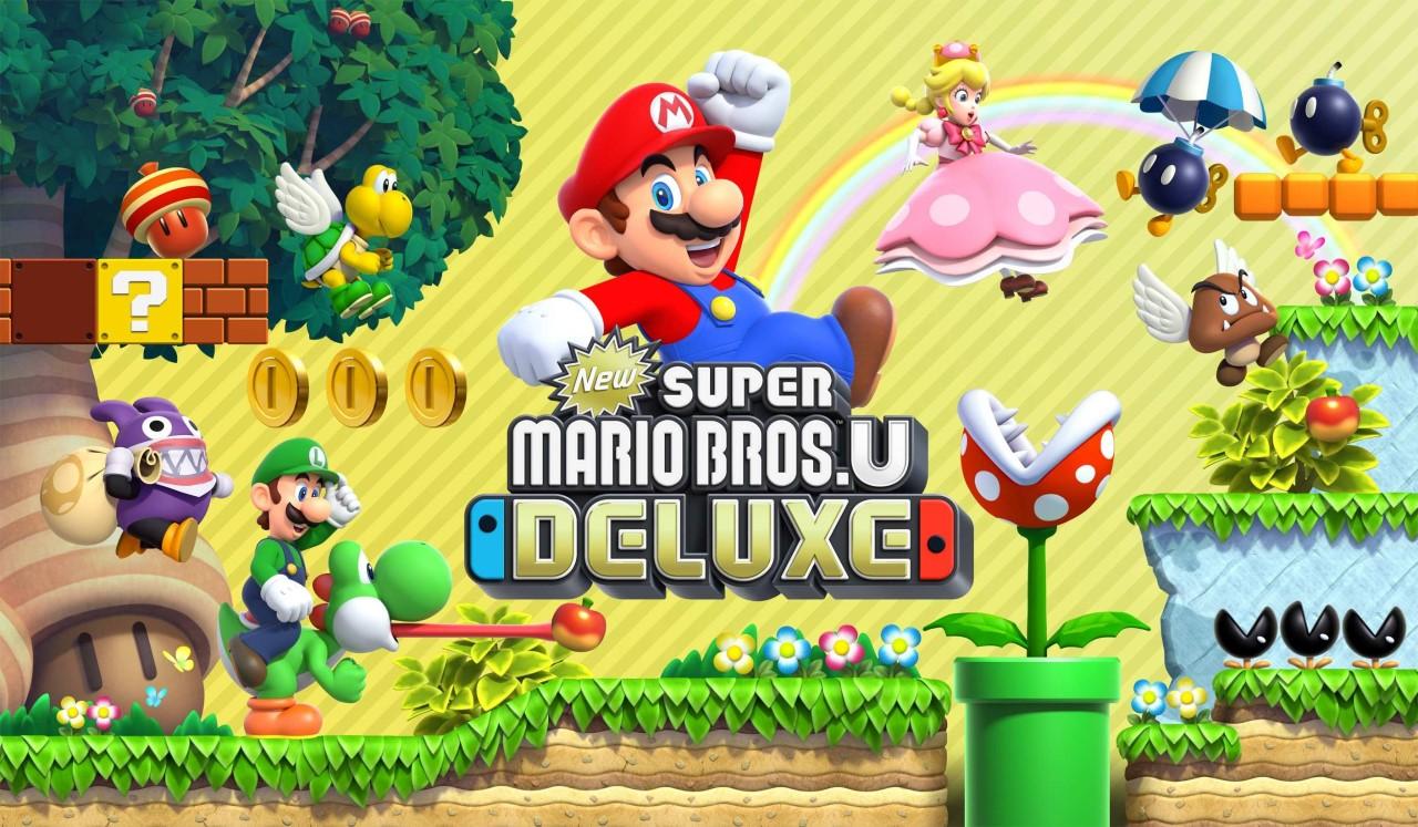 New Super Mario Bros U Deluxe Les Retours Presse Otakuplayer Super Mario Bros Mario Bros Super Mario