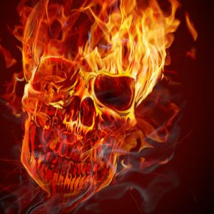 How to Create a Hellacious Flaming Skull
