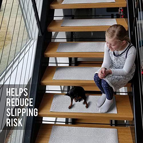 Best Designer Indoor Stair Mats Ultra Thin Microfiber Stair 400 x 300