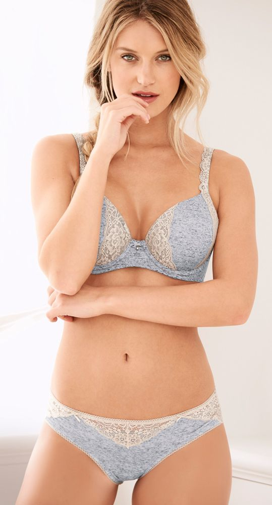 090ca035c9b8b Coordinate our Embraceable Full Coverage Lace Trim Bra with our Embraceable  panty for pretty comfort from top to bottom. Soma