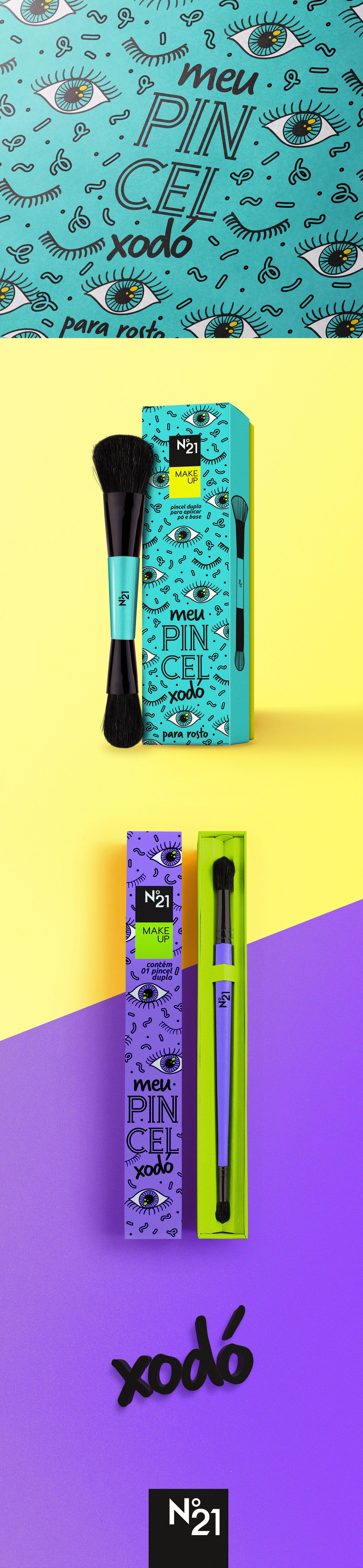 Meu Pincel Xodó • Package Design on Behance Visual
