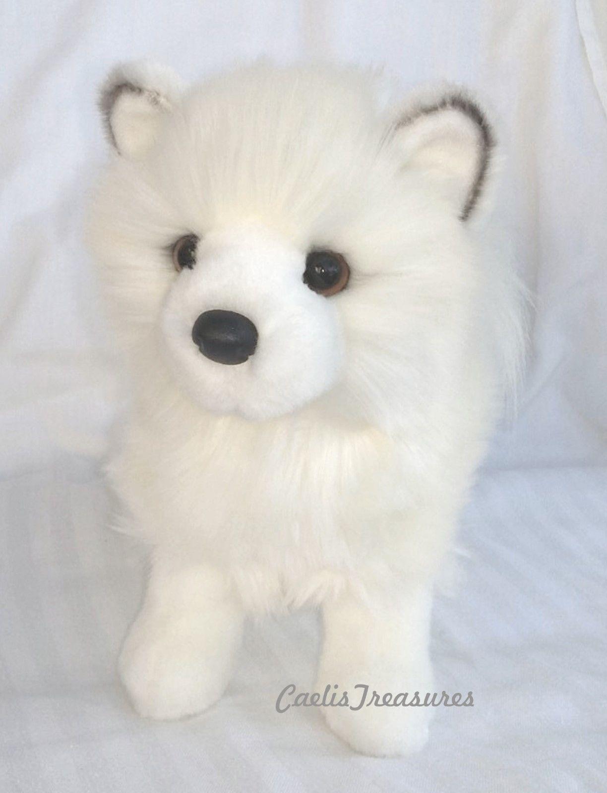 Douglas Phoebe White Pomsky 10 Plush Dog Stuffed Animal