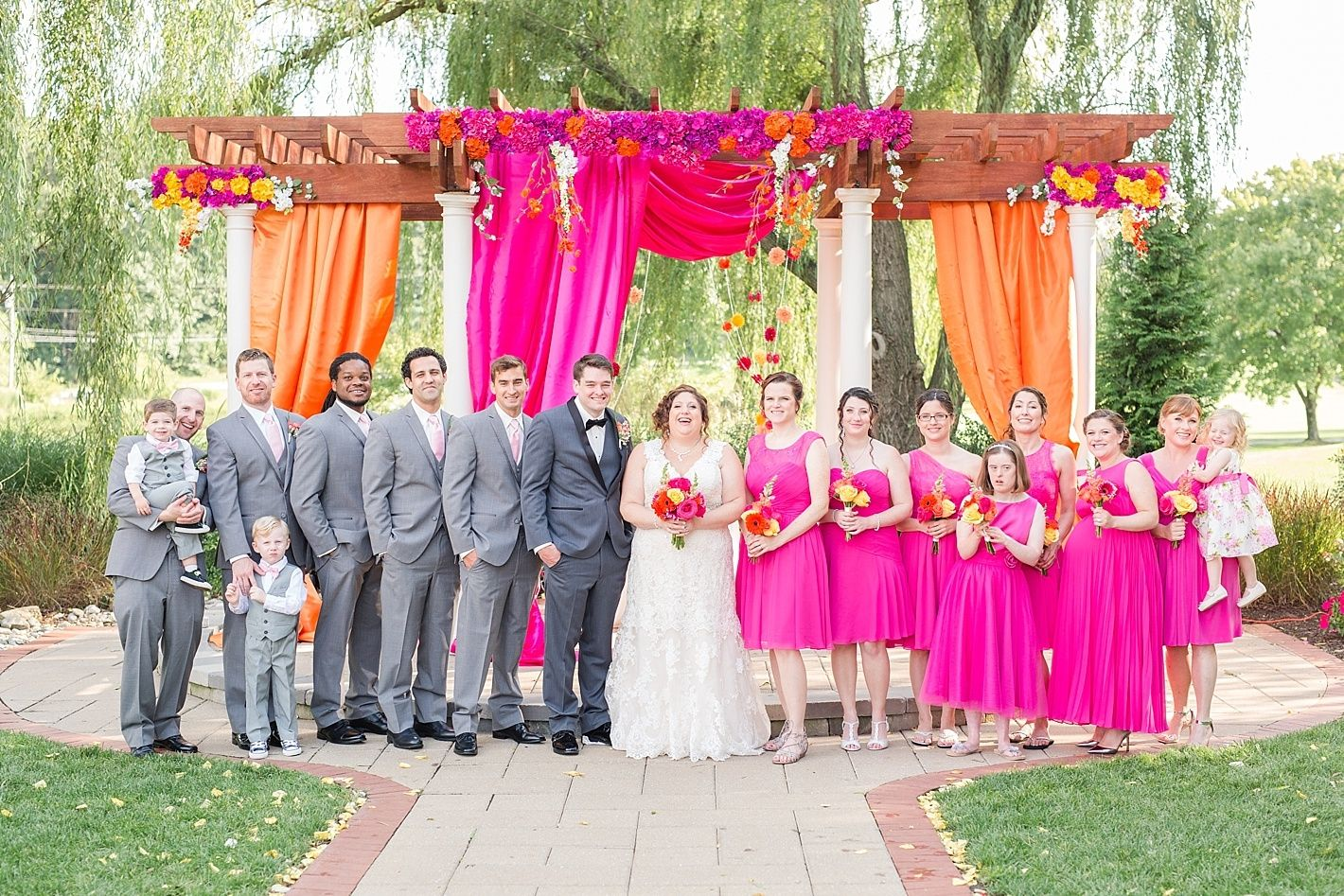 Turf Valley Wedding Photography Carly And Steve Pink Wedding Colors Orange Wedding Colors Wedding Colors
