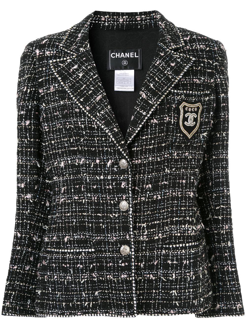 49f51f91455 Chanel Vintage Long Sleeve Jacket in 2019