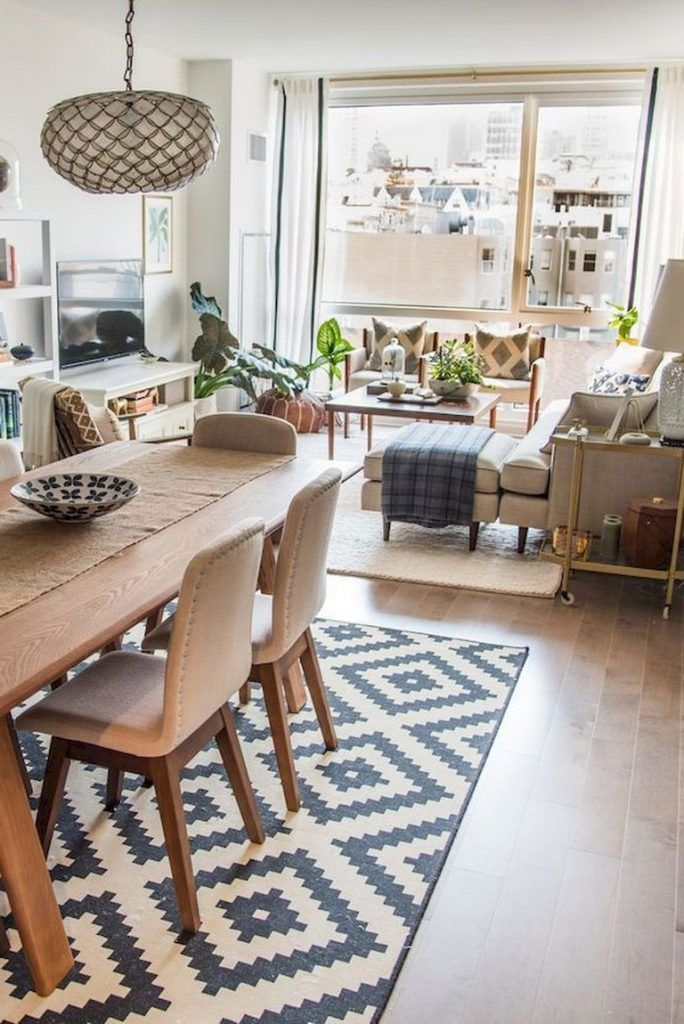 51+ Awesome Apartment Living Room Decorating Ideas On a Budget