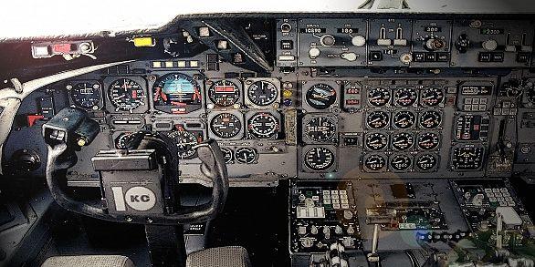 Jet Plane Kc 10a Extender Cockpit