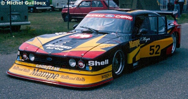 52 Ford Capri Turbo Zakspeed Mampe Ford Zakspeed Team Ford