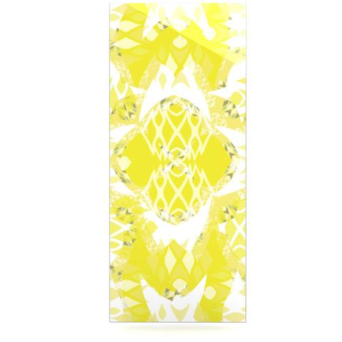 "Miranda Mol ""Citrus Spritz"" Luxe Rectangle Panel | KESS InHouse"