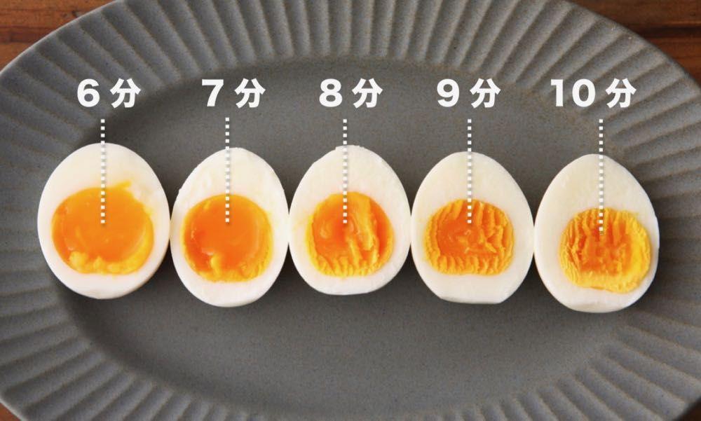クッキング プロ ゆで 卵 ゆでたまごの作り方(半熟から固ゆでまでのゆで時間のまとめ):白ご...