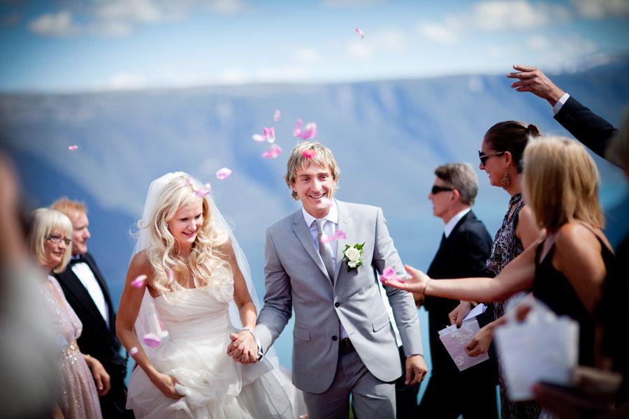 Bryllupet til Elise og Mike på Tørvis Hotell