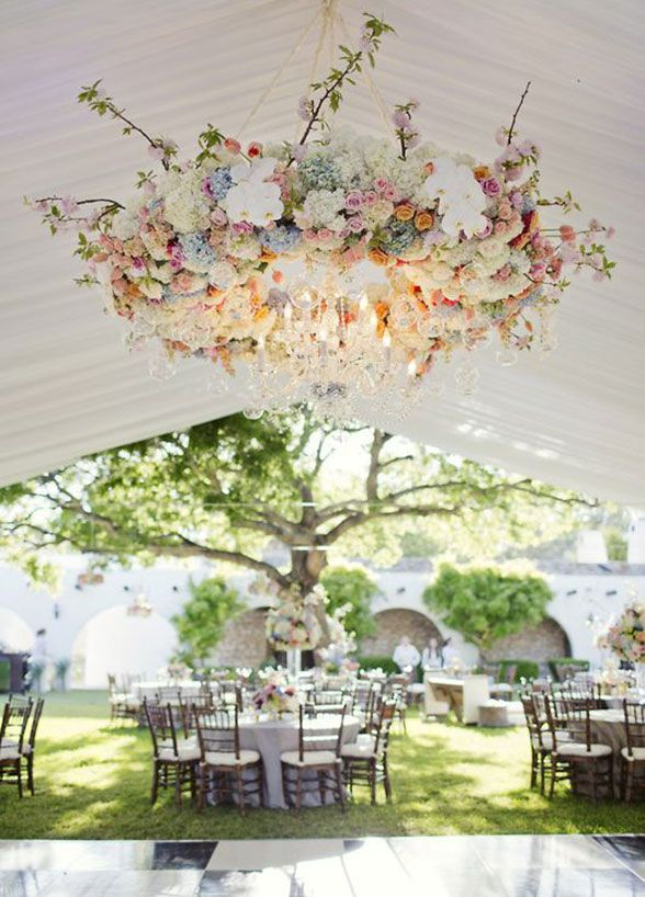 Find This Pin And More On Wedding Fl Chandelier