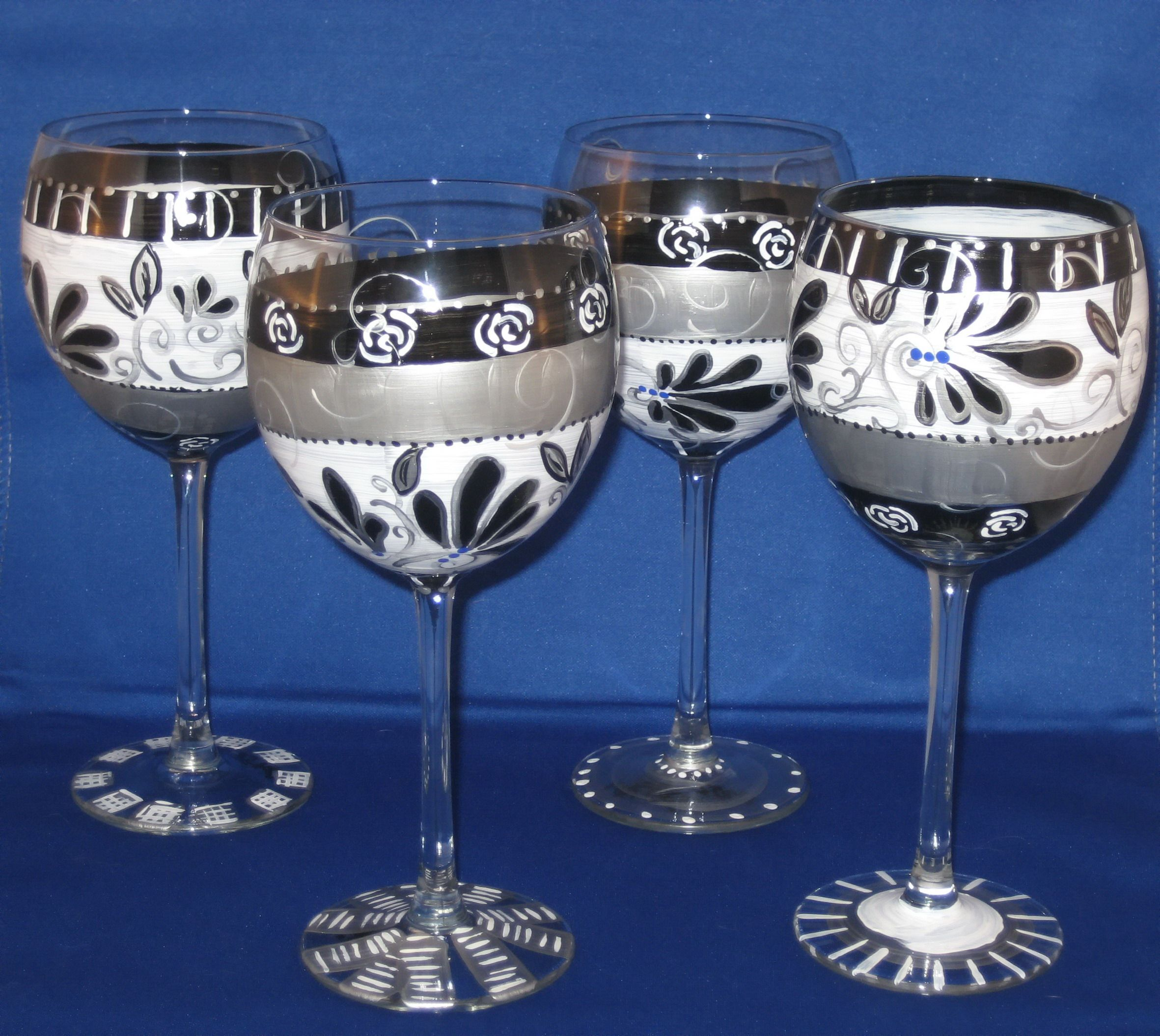 glasses decor shipping glass over decorative product carnival handmade shot of blown mexico overstock home free on set orders garden