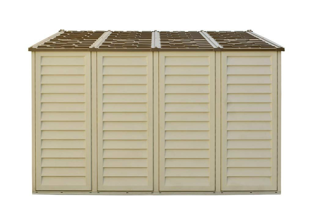 Woodbridge Plus 10 Ft X 10 Ft Vinyl Outdoor Garden Storage Shed Read More At The Image Link It In 2020 Outdoor Garden Storage Garden Storage Garden Storage Shed