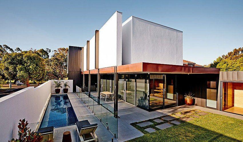 Jolie maison contemporaine et son petit porte à faux à melbourne australie construiretendance