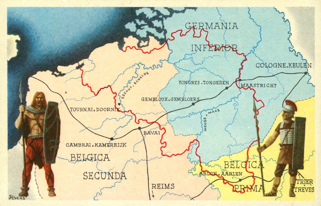 March 2013 History Roman Province Belgium