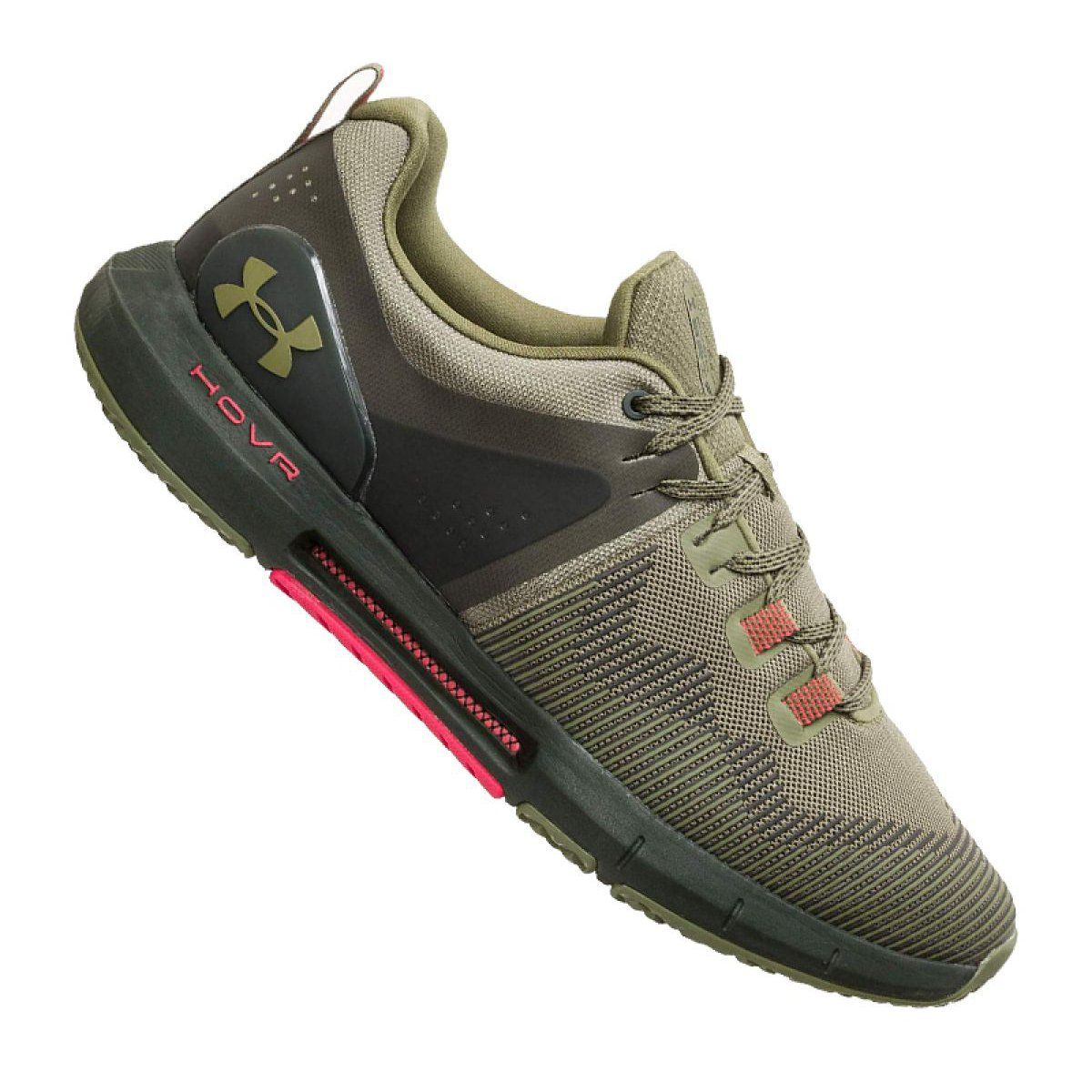 Buty Under Armour Hovr Rise M 3022025 301 Zielone Under Armor Shoes Under Armour