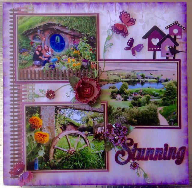 Stunning Layout by Lesa Bird