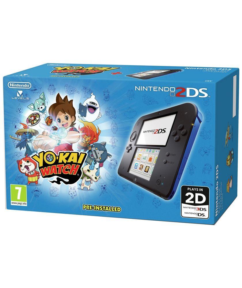 Buy Nintendo 2ds Blue Console With Yo Kai Watch Bundle At Argos Co