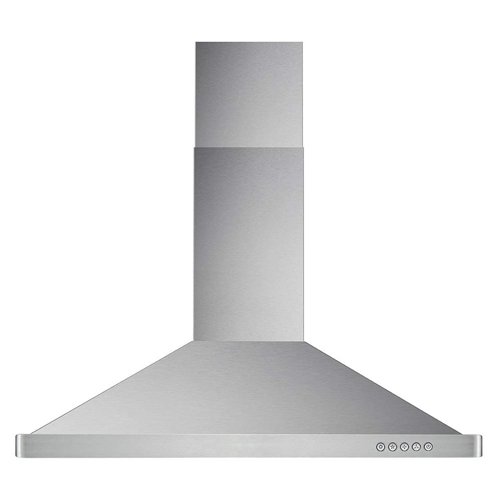 Cosmo 63190 36 In Wall Mount Range Hood 760 Cfm Ducted Ductless Convertible Duct Kitchen Chimney Style Over Stove Vent Led Light 3 Speed Exhaust Fan Perma In 2020 Wall Mount Range Hood Range Hood Ductless