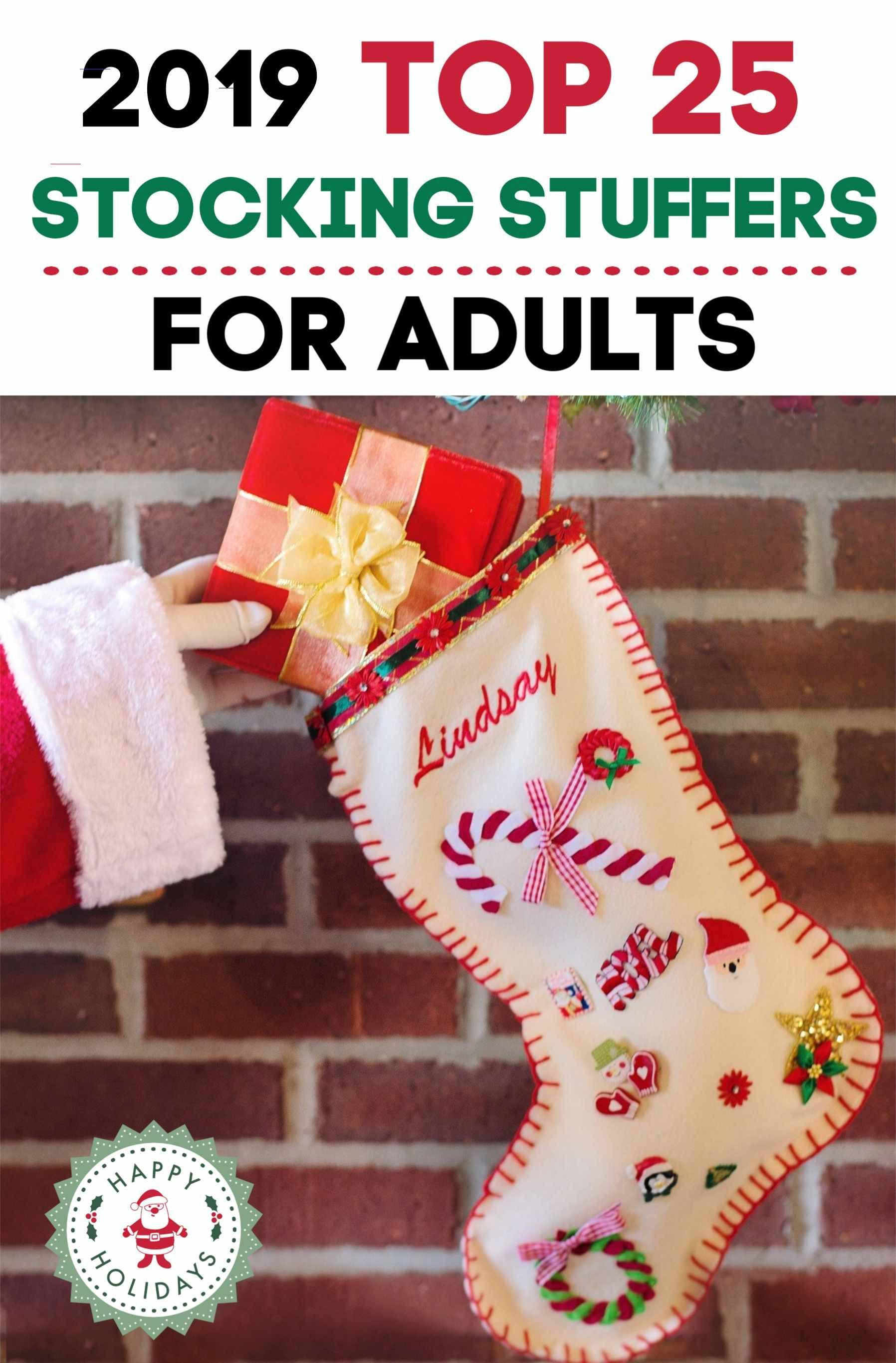 2019 Top 25 Stocking Stuffers for Adults