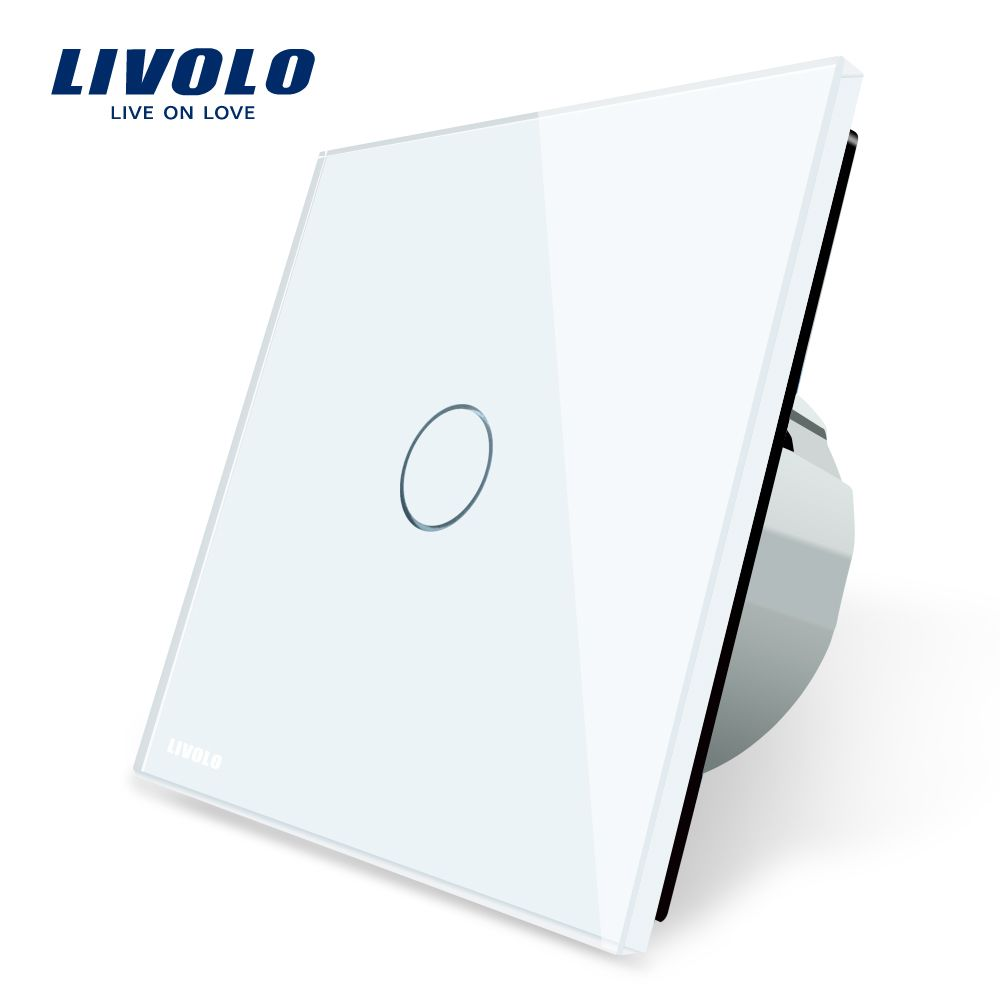 Find More Switches Information About Livolo Luxury White