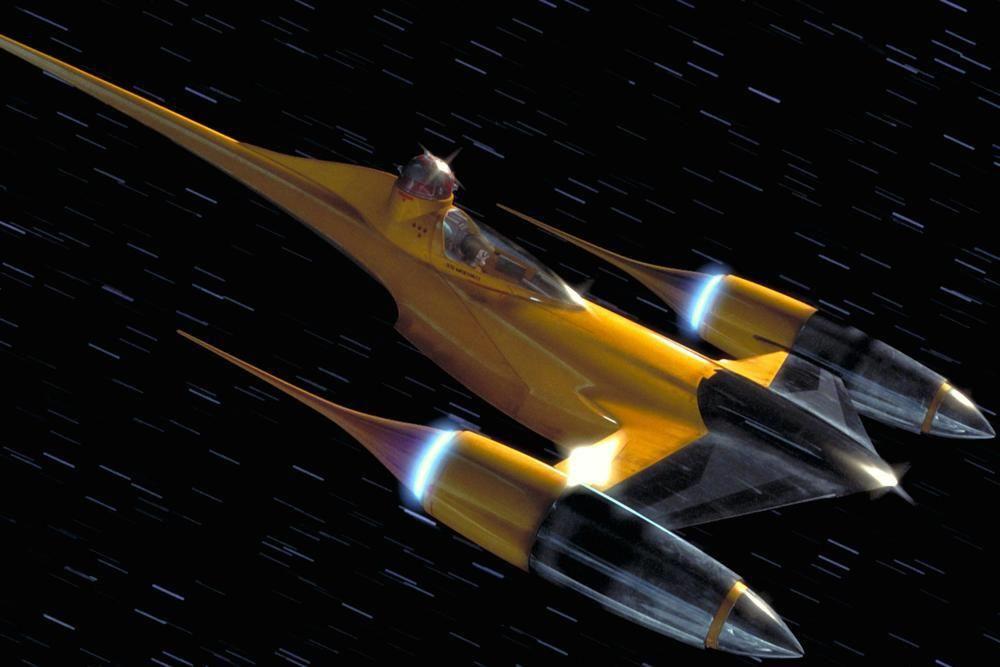 N-1 Naboo Starfighter   Star wars spaceships, Star wars ...