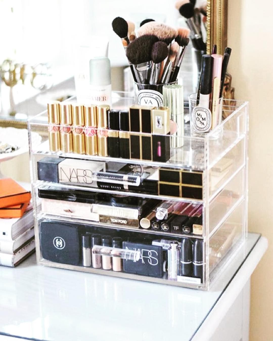 "The most GLAM way to organize your jewelry, accessories, makeup and beauty products!!!❤️""If you don't see it, you won't use it!""❤️ ~ 👻 glamboxes"